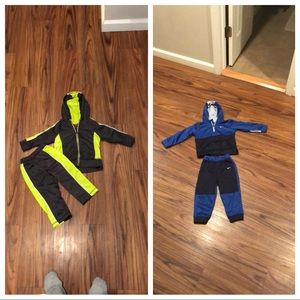 Baby athletic suits!